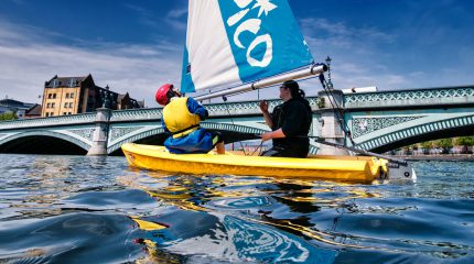 Sailing on the Lagan
